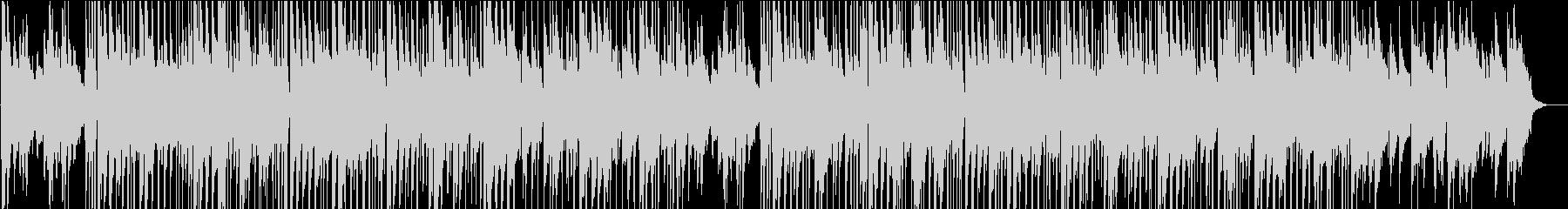 ゆったりムーディーなジャズサウンドの未再生の波形
