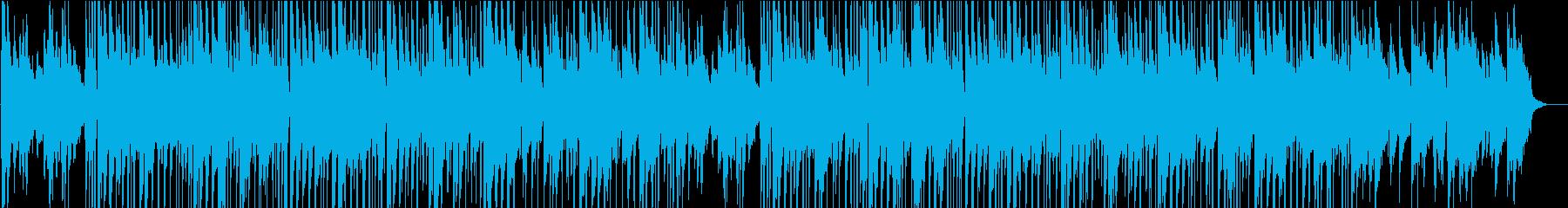 ゆったりムーディーなジャズサウンドの再生済みの波形