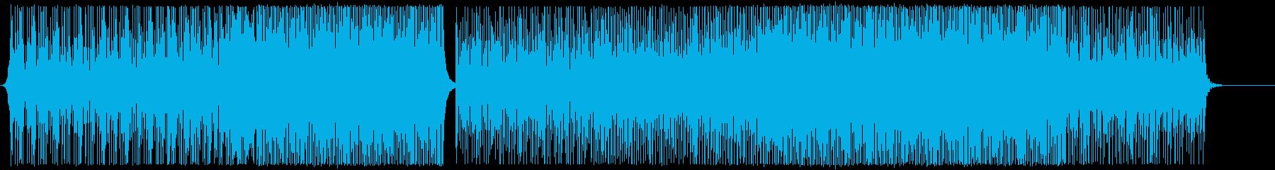 アクティブ-EDMハウス-空-PV-感動の再生済みの波形