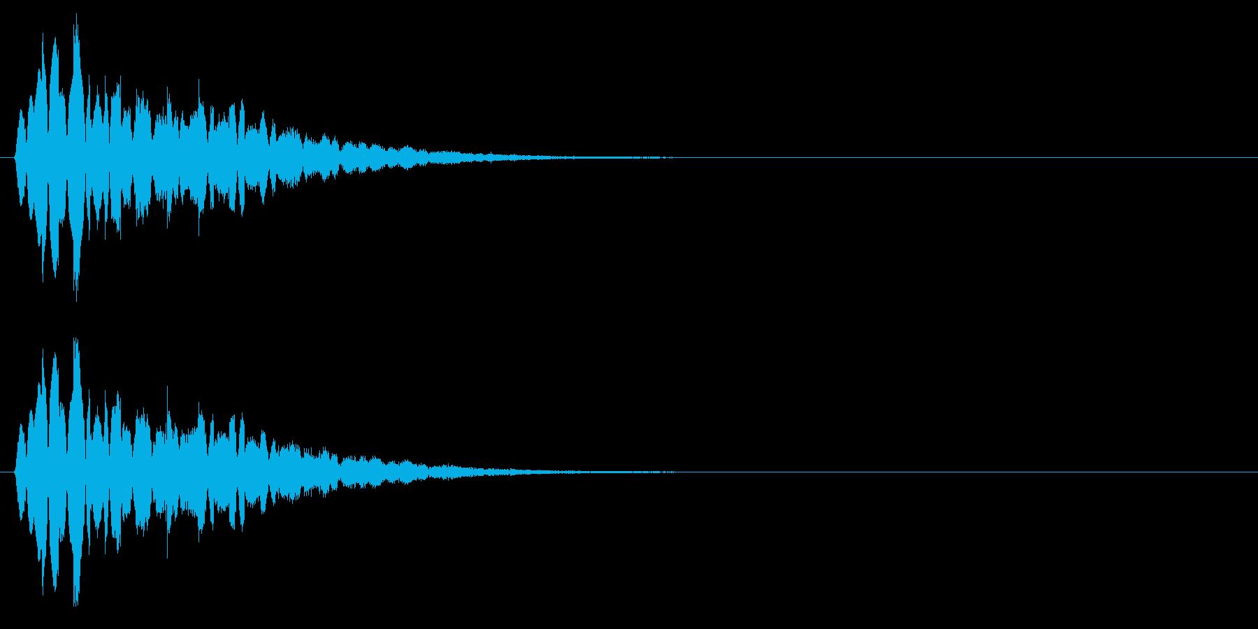 キラキラキラッ↓(流れ星、流星)の再生済みの波形