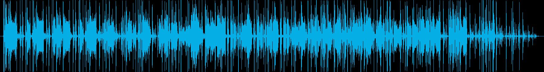クールだけどどこかコミカルなBGMの再生済みの波形