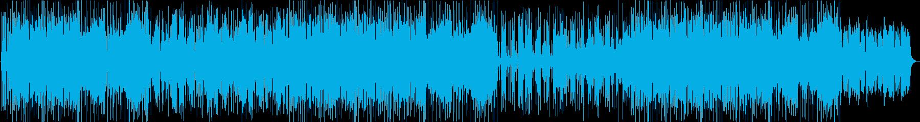 和風・おしゃれ・ポップ・アップテンポの再生済みの波形