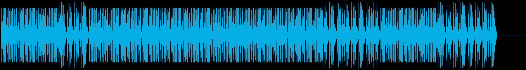 コマーシャル用のレトロな電子ダンス...の再生済みの波形