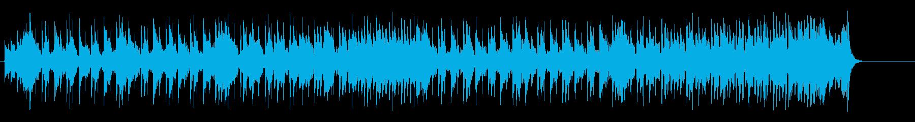 気怠くコミカルなポップ・フュージョンの再生済みの波形