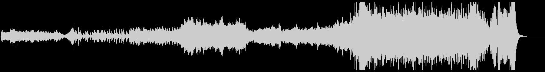 壮大なフルオーケストラ OP、タイトルの未再生の波形