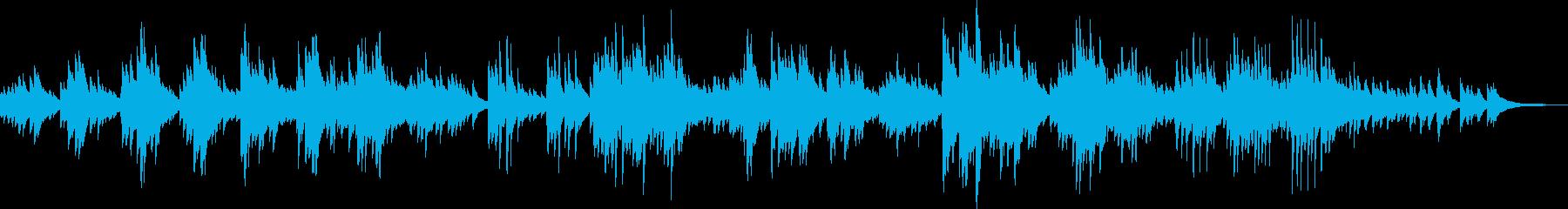 感動的なピアノバラード(明るい、優しい)の再生済みの波形