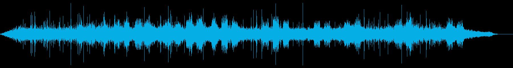 ラジオドラマや動画の効果音に オフィスの再生済みの波形
