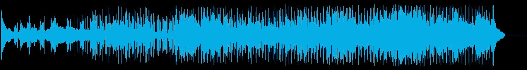 神秘的な海をイメージさせる癒し系の一曲の再生済みの波形