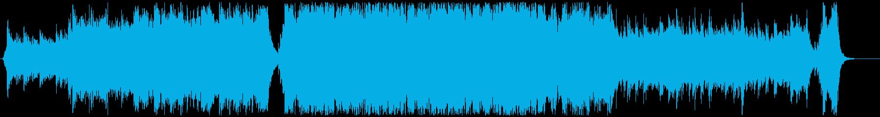 ハリウッド映画風の壮大なオーケストラ2Cの再生済みの波形