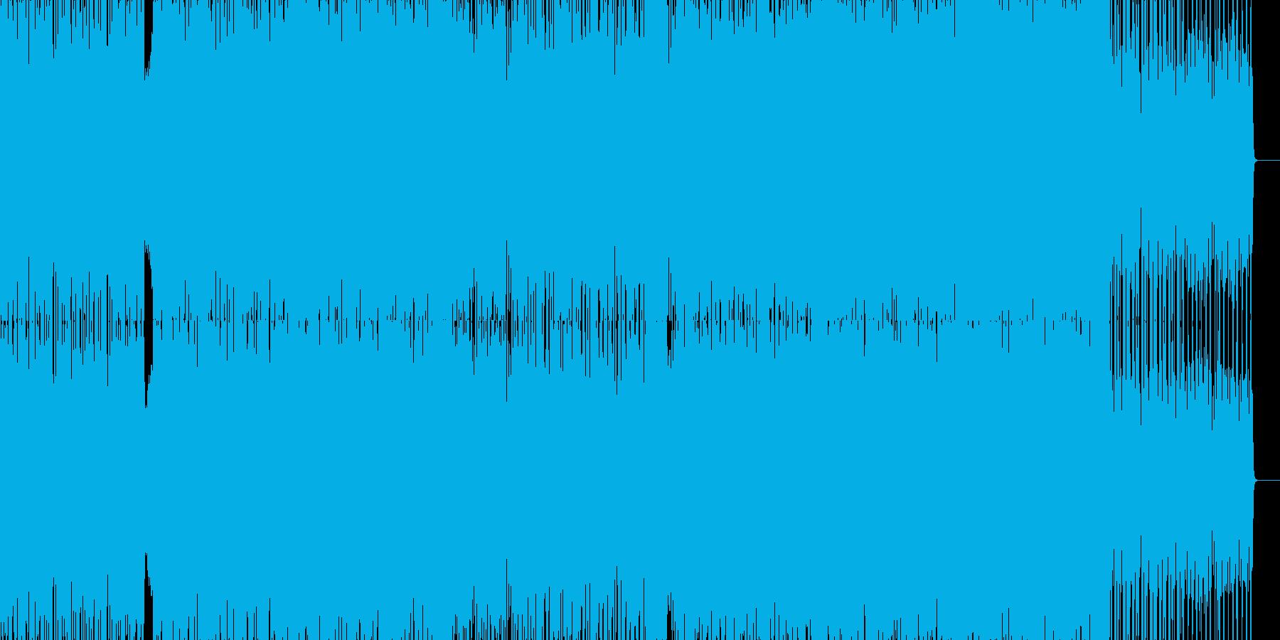 攻撃的なドラムンベース 戦闘曲などにの再生済みの波形