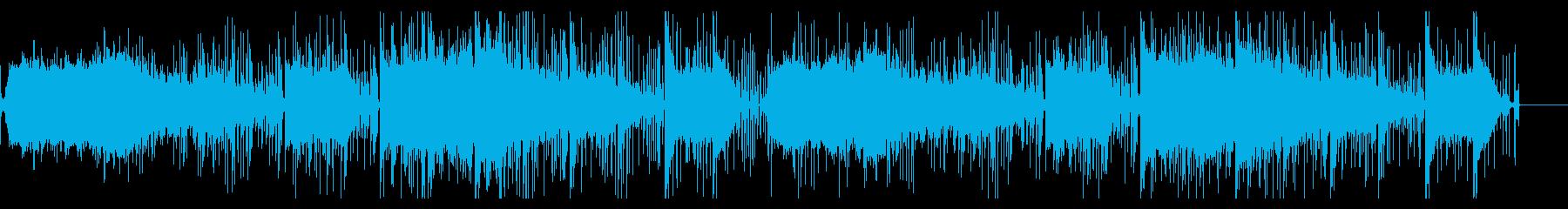 サスペンシブで陰鬱なIDMの再生済みの波形