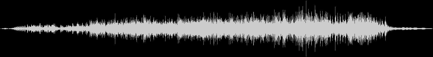 うりぼうの鳴き声の未再生の波形