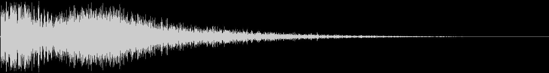 ガシューン(ボタン・レバー・打撃音)の未再生の波形