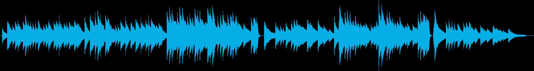 大きな古時計(ピアノカバー)の再生済みの波形