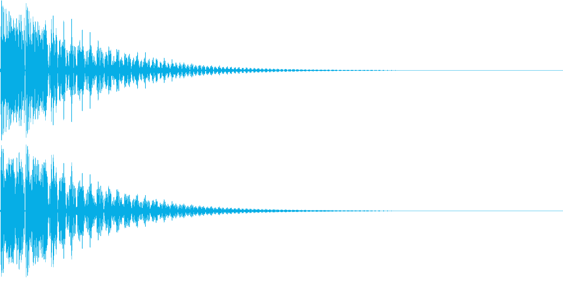 和太鼓でドドン(生演奏)の再生済みの波形