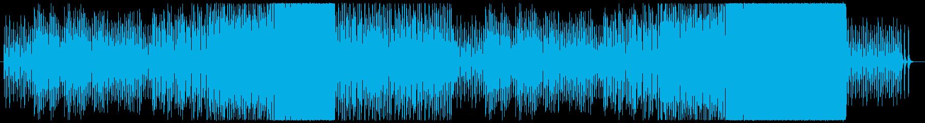 ほのぼの軽快ファンタジー風セミクラシックの再生済みの波形
