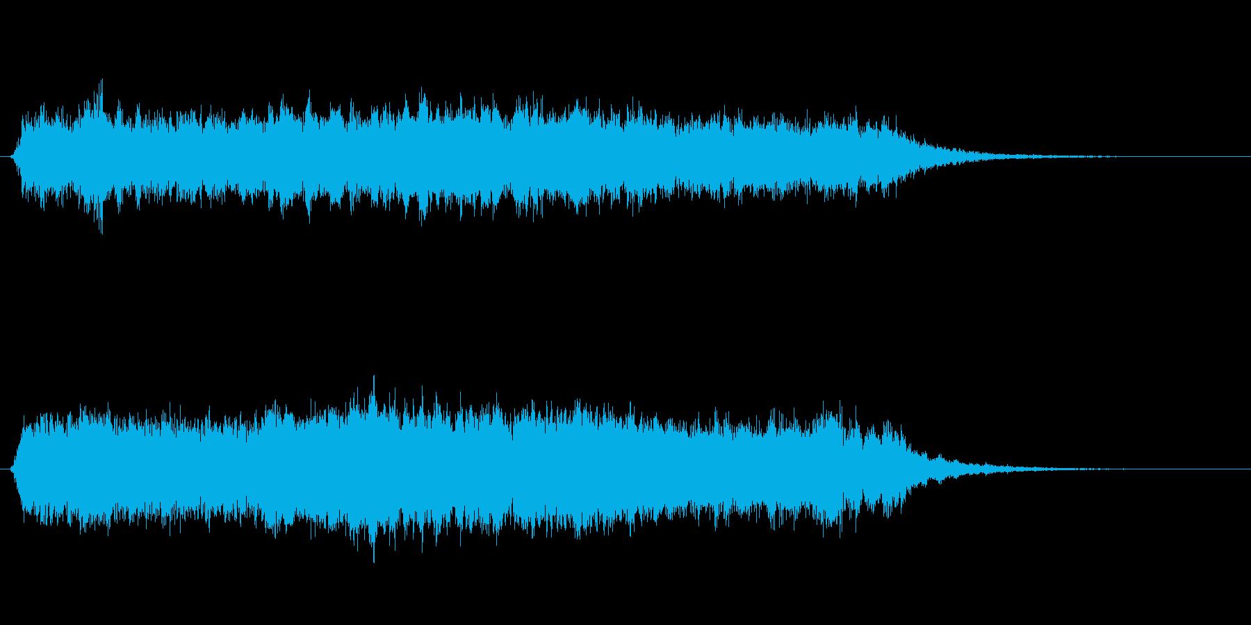 パッド シネマティックレゾネーター...の再生済みの波形