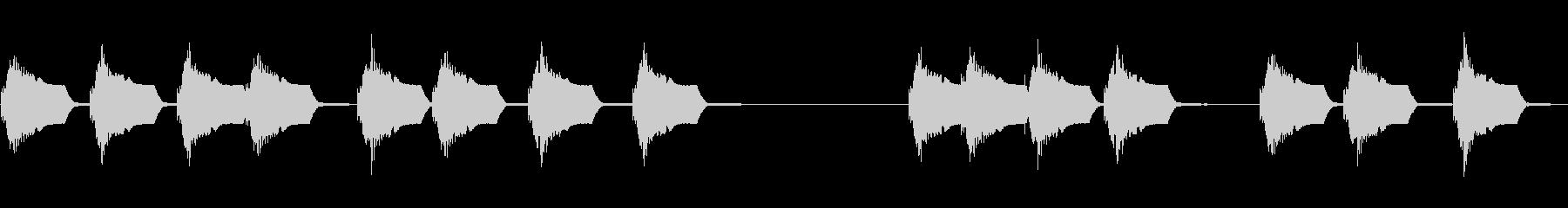電子コンソールのボタン:キー入力エ...の未再生の波形
