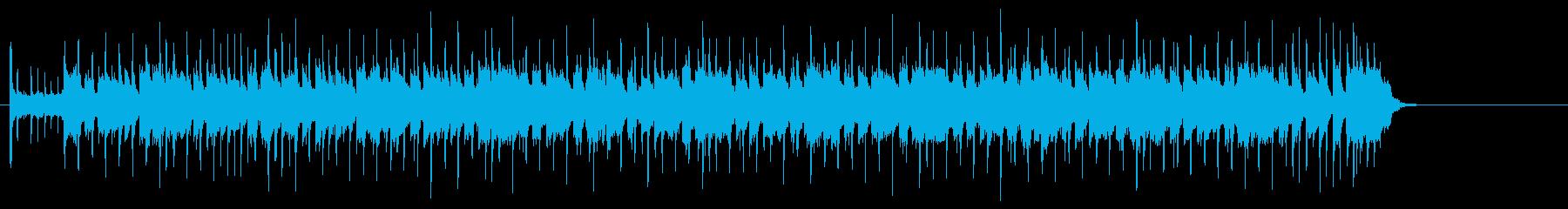 ブルージーでタフネスなギター・サウンドの再生済みの波形