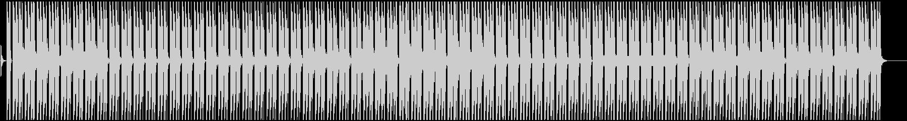 テンションが上がる緊張感のあヒップホップの未再生の波形