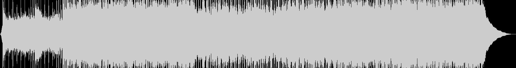 明るくエネルギッシュなパンクロックの背景の未再生の波形