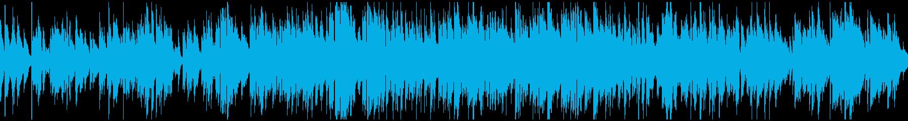 ほのぼの散歩日和ジャズサックス※ループ版の再生済みの波形