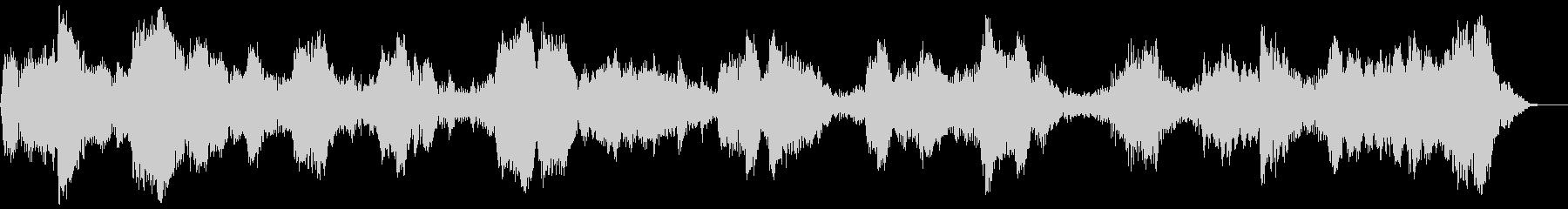 背景音 ホラー3の未再生の波形