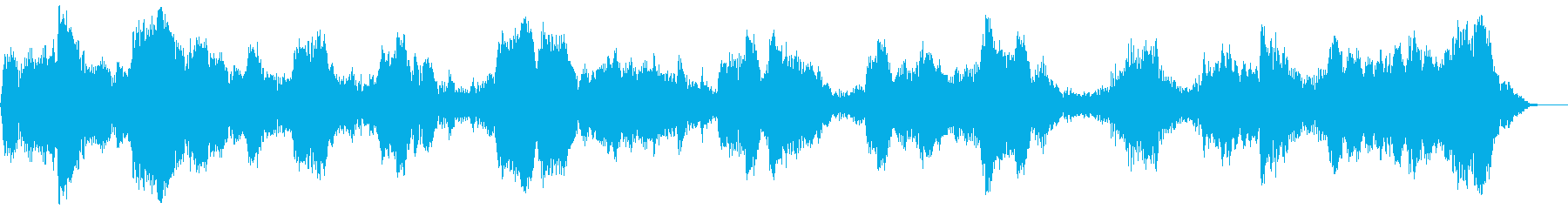 背景音 ホラー3の再生済みの波形