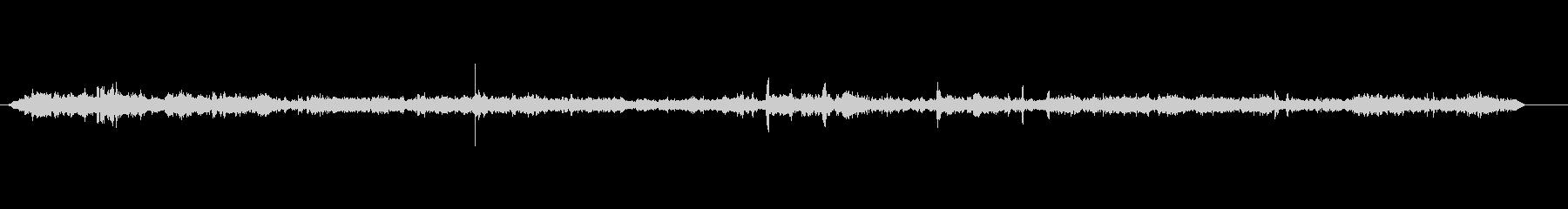 シネマロビー-声の未再生の波形