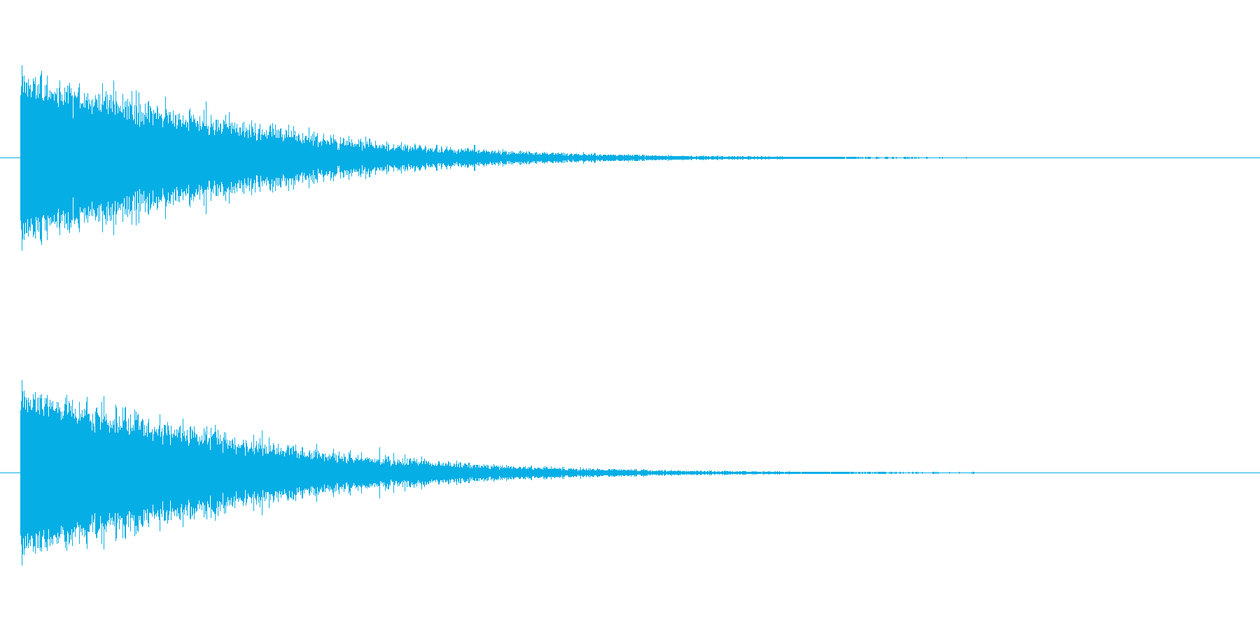 ノイズ エンカウントの再生済みの波形