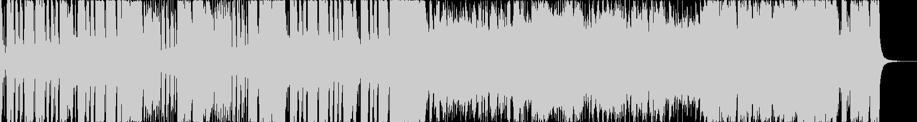 ポップで笑えるドタバタBGMの未再生の波形