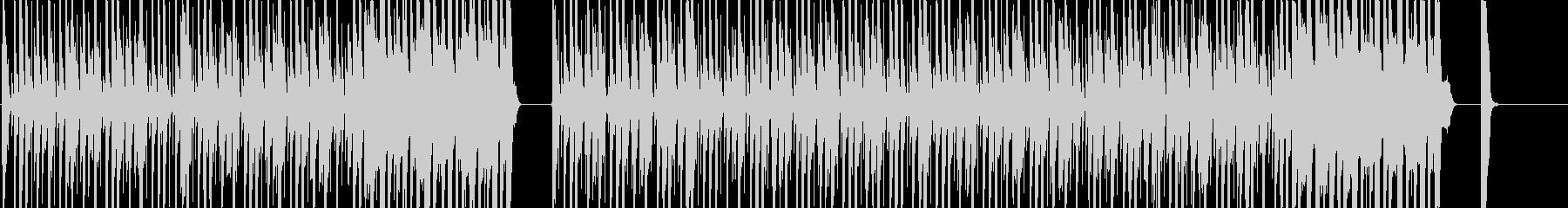 カッティングが強めのロックな曲の未再生の波形