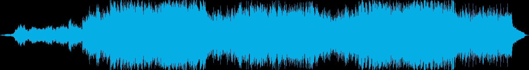 シネマティックドラマティックオーケストラの再生済みの波形