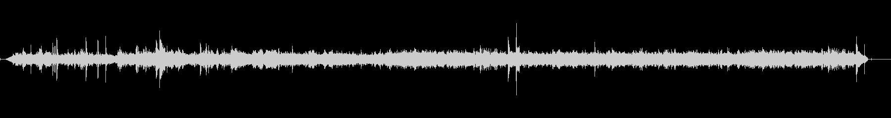 ファーストフードレストラン-声1の未再生の波形