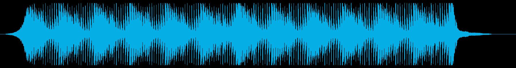 【爽やか】企業VP、透明感と暖かいBGMの再生済みの波形