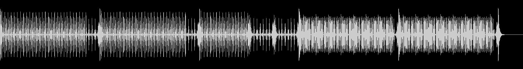News25 Short ドラムのみの未再生の波形