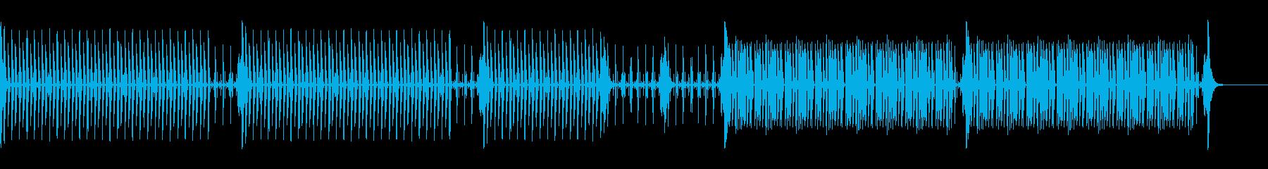 News25 Short ドラムのみの再生済みの波形