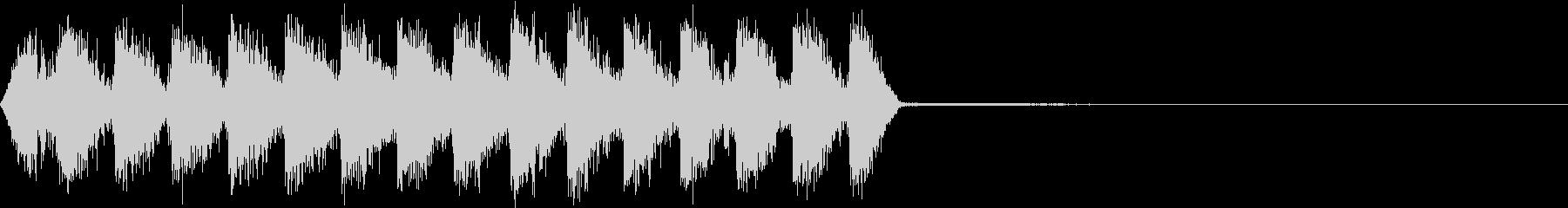 Razor レイザー小銃の連射音 4の未再生の波形