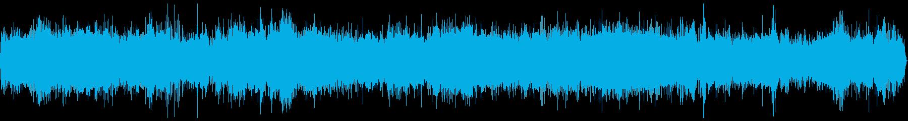 特急 電車 走行音 バイノーラル 11分の再生済みの波形