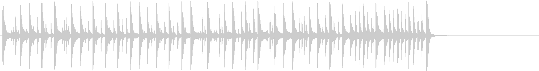 アコースティックドラムセット:スネ...の未再生の波形