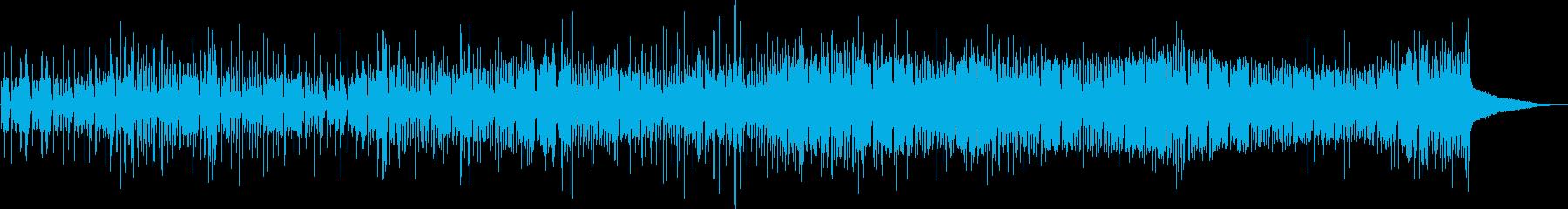 ミニマルで緊迫感あるサスペンスフルテクノの再生済みの波形