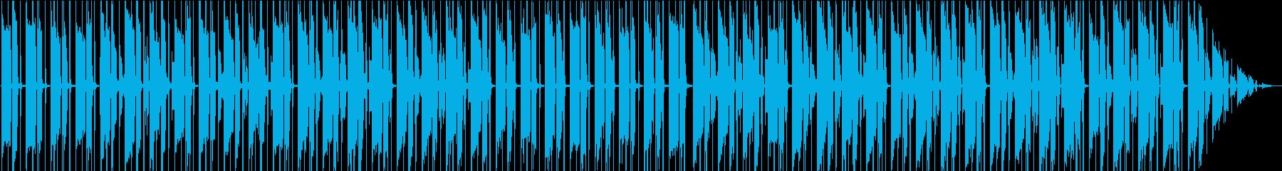 チルアウト・夜・ギターの再生済みの波形