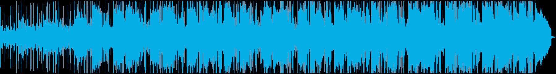 有益なサウンドトラックは、電子現代...の再生済みの波形
