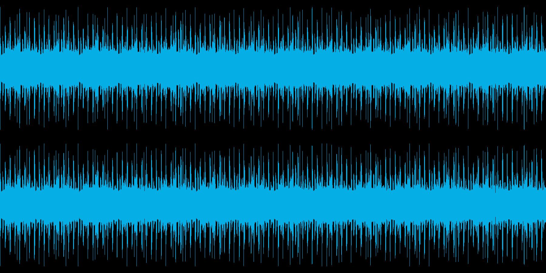 くつろぎのエレピLofi Hiphopの再生済みの波形