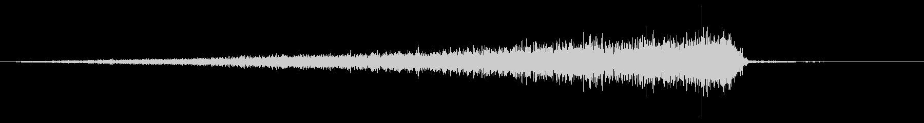 ホラー系アタック音78の未再生の波形