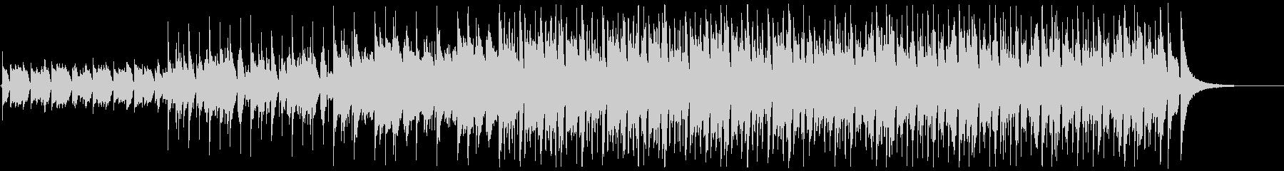 ウクレレとピアノが主なポジティブな曲の未再生の波形