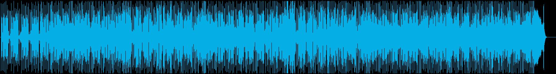 クールでドライな雰囲気のブルースロック♪の再生済みの波形