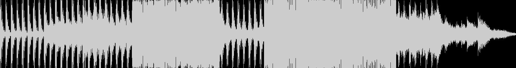 寒くて悲しいイメージのシンセの印象的な曲の未再生の波形