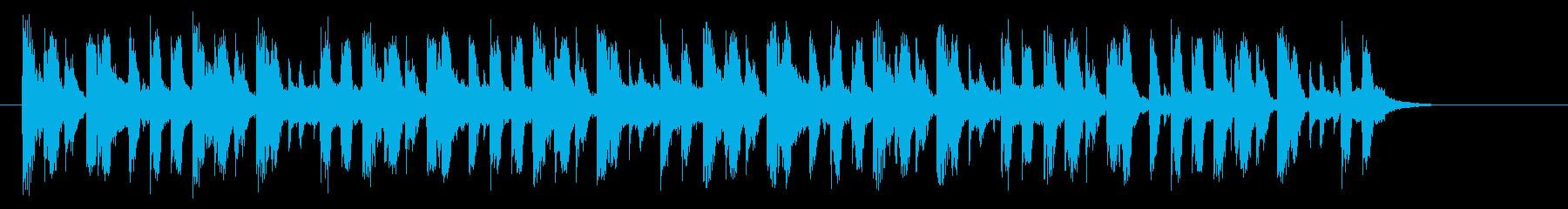 おしゃれなチャイニーズロックの再生済みの波形