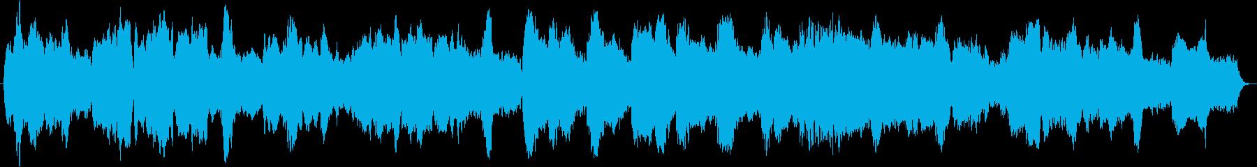ホルンの柔らかい・優しい響きの再生済みの波形
